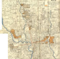 Annotated Map of Columbus, Ohio: Better-class Residential Sections